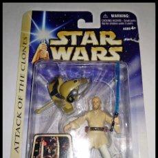 Figure e Bambolotti Star Wars: STAR WARS # OBI-WAN KENOBI # ATTACK OF THE CLONES - NUEVO EN SU BLISTER ORIGINAL DE HASBRO.. Lote 174335943