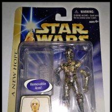 Figuras y Muñecos Star Wars: STAR WARS # C-3PO # A NEW HOPE - NUEVO EN SU BLISTER ORIGINAL DE HASBRO.. Lote 174336112