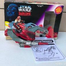 Figuras y Muñecos Star Wars: SWOOP DE STAR WARS SHADOWS OF EMPIRE SIN FIGURA. Lote 174411399