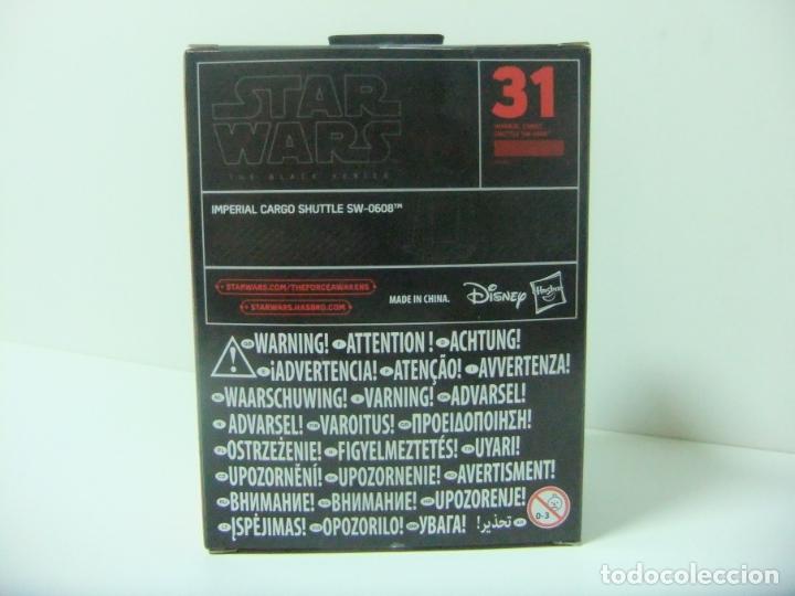 Figuras y Muñecos Star Wars: NAVE IMPERIAL CARGO SHUTTLE SW-0608 - STAR WARS THE BLACK SERIES TITANIUM Nº 31 DISNEY HASBRO B9565 - Foto 2 - 174468782
