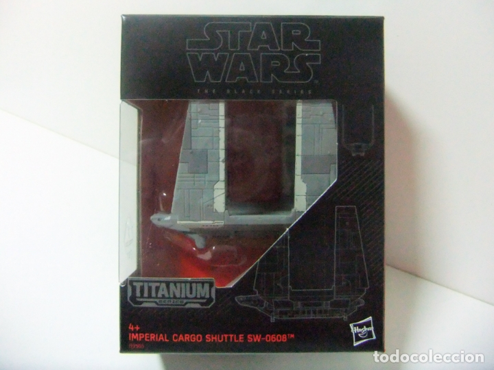 NAVE IMPERIAL CARGO SHUTTLE SW-0608 - STAR WARS THE BLACK SERIES TITANIUM Nº 31 DISNEY HASBRO B9565 (Juguetes - Figuras de Acción - Star Wars)