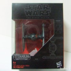Figuras y Muñecos Star Wars: NAVE TIE FIGHTER FIRST ORDER FORCES - STAR WARS THE BLACK SERIES TITANIUM Nº 04 DISNEY HASBRO B3933. Lote 174511679
