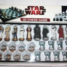 Figuras y Muñecos Star Wars: AJEDREZ CON FIGURAS DE STAR WARS 3D CHESS GAME - NUEVO A ESTRENAR. Lote 174605193