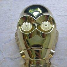 Figuras y Muñecos Star Wars: C-3PO LUCASFILM LTD. 1994 LEWIS GALOOB TOYS (CON FIGURITA DE BARMAN Y PEQUEÑO HALCÓN MILENARIO). Lote 175139143