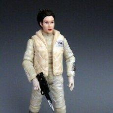 Figuras y Muñecos Star Wars: FIGURA STAR WARS HASBRO LEIA HOTH TVC. Lote 175225115