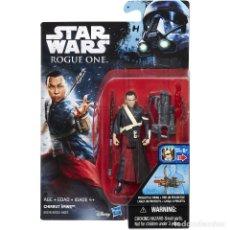 Figuras y Muñecos Star Wars: STAR WARS ROGUE ONE: CHIRRUT IMWE (2016) HASBRO - SIN ABRIR, A ESTRENAR. Lote 175346037
