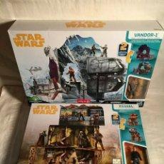 Figuras y Muñecos Star Wars: SETS EXCLUSIVOS DE STAR WARS - HAN SOLO - VANDOR-1 & KESSEL MINE SCAPE - HASBRO. Lote 175539014