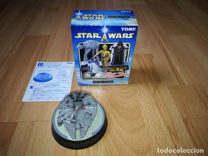 STAR WARS. DIORAMA HALCÓN MILENARIO DE TOMY. (SÓLO SE VENDE EN JAPÓN) (Juguetes - Figuras de Acción - Star Wars)