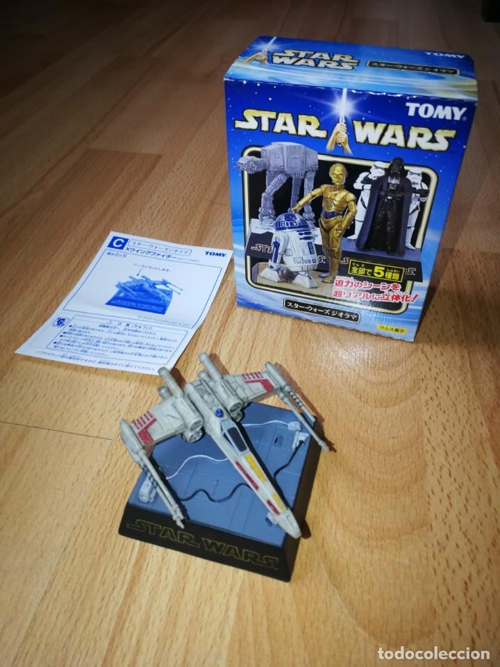 STAR WARS. DIORAMA X-WING DE TOMY (SÓLO SE VENDE EN JAPÓN) (Juguetes - Figuras de Acción - Star Wars)