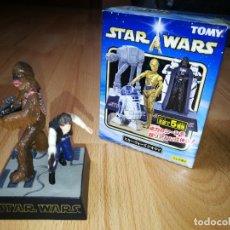 Figuras y Muñecos Star Wars: STAR WARS. DIORAMA HAN SOLO Y CHEWBACCA DE TOMY (SÓLO SE VENDE EN JAPÓN). Lote 175581704
