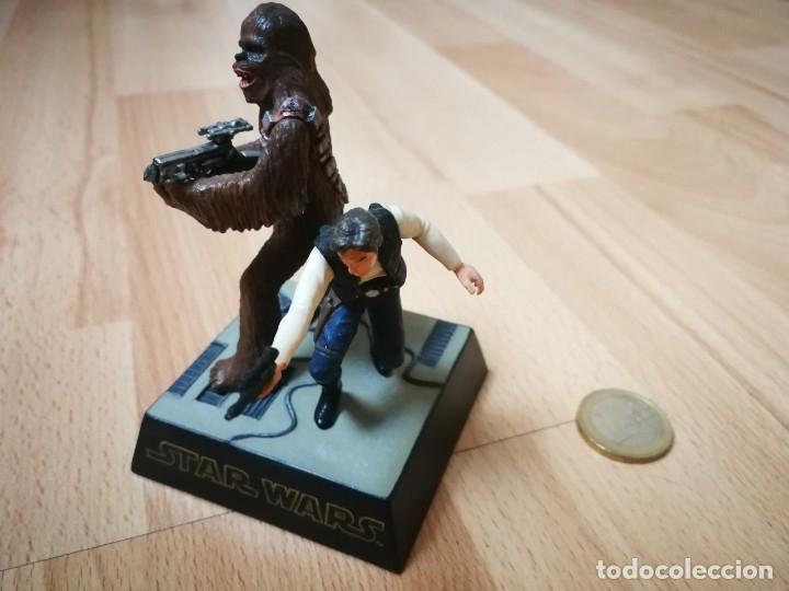 Figuras y Muñecos Star Wars: Star Wars. Diorama Han Solo y Chewbacca de Tomy (Sólo se vende en Japón) - Foto 2 - 175581704