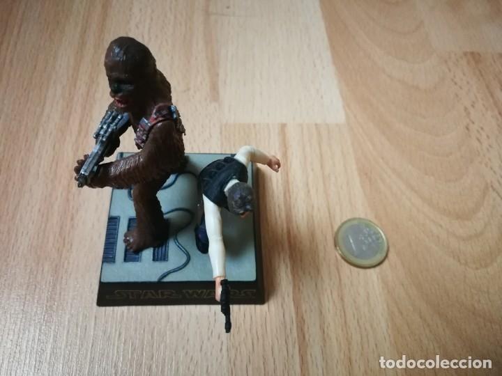 Figuras y Muñecos Star Wars: Star Wars. Diorama Han Solo y Chewbacca de Tomy (Sólo se vende en Japón) - Foto 3 - 175581704