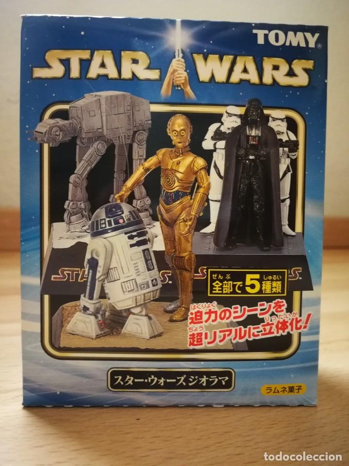 Figuras y Muñecos Star Wars: Star Wars. Diorama Han Solo y Chewbacca de Tomy (Sólo se vende en Japón) - Foto 4 - 175581704