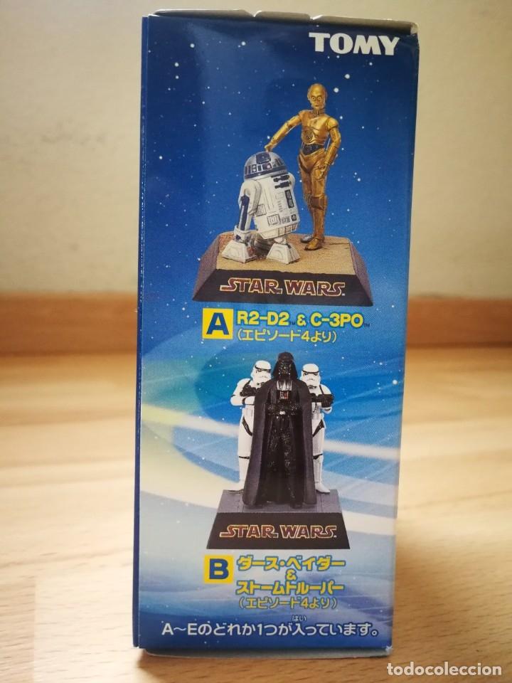 Figuras y Muñecos Star Wars: Star Wars. Diorama Han Solo y Chewbacca de Tomy (Sólo se vende en Japón) - Foto 7 - 175581704