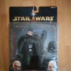 Figuras y Muñecos Star Wars: STAR WARS UNLEASHED. DARTH VADER SIN MÁSCARA. HASBRO (2002) . Lote 175584348