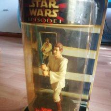 Figuras y Muñecos Star Wars: STAR WARS. OBI-WAN KENOBI. FIGURA GIRATORIA. HASBRO. (1999). Lote 175584437