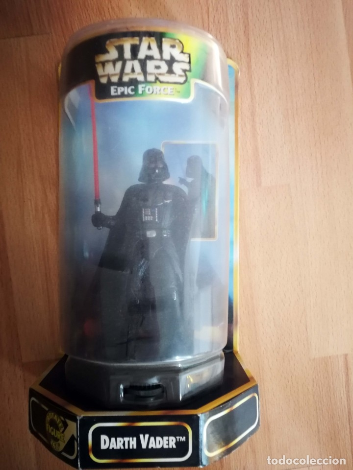 STAR WARS. FIGURA DARTH VADER 360. EPIC FORCE DE KENNER (1997) (Juguetes - Figuras de Acción - Star Wars)