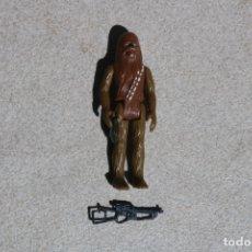 Figuras y Muñecos Star Wars: FIGURA ACCIÓN VINTAGE STAR WARS KENNER CHEWBACCA COMPLETO 1977 GMFGI HONG KONG LFL FIRST 12. Lote 175587045