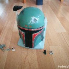 Figuras y Muñecos Star Wars: STAR WARS. CABEZA DE BOBA FETT CON MUÑECOS. Lote 175587615