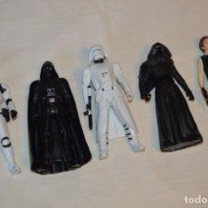 Figuras y Muñecos Star Wars: HASBRO S.A. / LFL - LOTE DE 5 FIGURAS VARIADAS, 15 CM. STAR WARS - ¡MIRA FOTOS Y DETALLES!. Lote 175688002