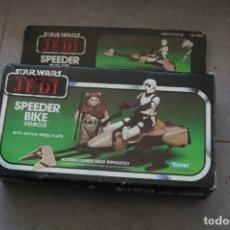 Figuras y Muñecos Star Wars: STAR WARS VINTAGE CAJA ORIGINAL SPEEDER BIKE KENNER 1983 TAIWAN LFL MOTOJET ROTJ. Lote 175724022