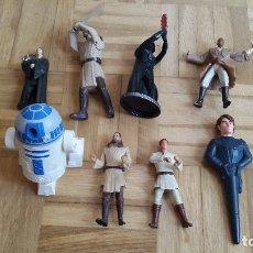 Figuras y Muñecos Star Wars: LOTE 8 FIGURAS - MUÑECOS - STAR WARS - VER FOTOS ADICIONALES. Lote 175743195