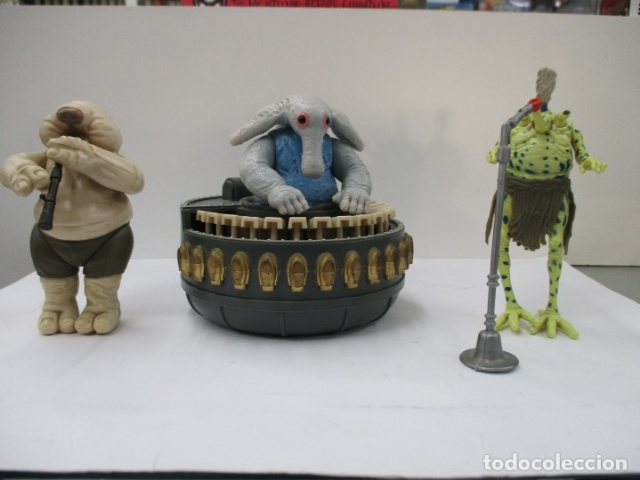STAR WARS - REBO BAND + JABBA THE HUTT - ORIGINAL DE EPOCA / KENNER / MUY BUEN ESTADO (Juguetes - Figuras de Acción - Star Wars)