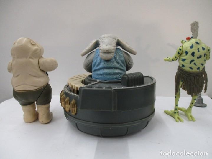 Figuras y Muñecos Star Wars: STAR WARS - REBO BAND + JABBA THE HUTT - ORIGINAL DE EPOCA / KENNER / MUY BUEN ESTADO - Foto 5 - 176074492
