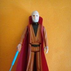Figuras y Muñecos Star Wars: FIGURA STAR WARS OBI WAN BEN KENOBI 100% COMPLETA PELO GRIS GMFGI 1977 KENNER VINTAGE .. Lote 204715613