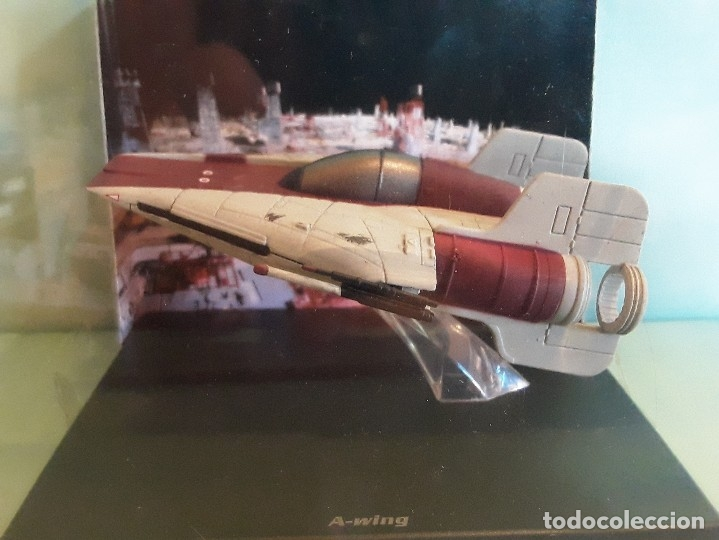 Figuras y Muñecos Star Wars: NAVE A-WING DE STAR WARS - LUCAS FILM LTD EN SU CAJA PLANETA DEAGOSTINI - Foto 2 - 176280028