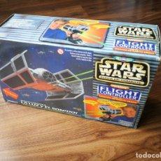 Figuras y Muñecos Star Wars: STAR WARS. TIE FIGHTER DARTH VADER FLIGHT CONTROLLER DE MICROMACHINES (1997). Lote 176280254