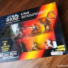 Figuras y Muñecos Star Wars: STAR WARS. DIE CAST METAL. 6 PACK DE KENNER (1995). Lote 176281082