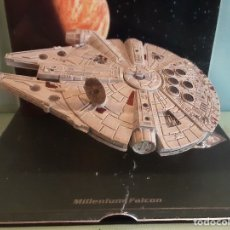 Figuras y Muñecos Star Wars: STAR WARS NAVE MILLENIUM FALCON - LUCAS FILM LTD PLANETA DE AGOSTINI. HALCON MILENARIO. Lote 176325019