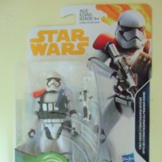 Figuras y Muñecos Star Wars: FIGURA FIRST ORDER STORMTROOPER OFFICER - STAR WARS DISNEY HASBRO MUÑECO OFICIAL FORCE LINK 2.0 3,75. Lote 176424915