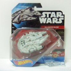 Figuras y Muñecos Star Wars: MILLENNIUM FALCON - HOT WHEELS STAR WARS MATTEL - THE FORCE AWAKENS NAVE HALCÓN MILENARIO MILLENIUM. Lote 176445289
