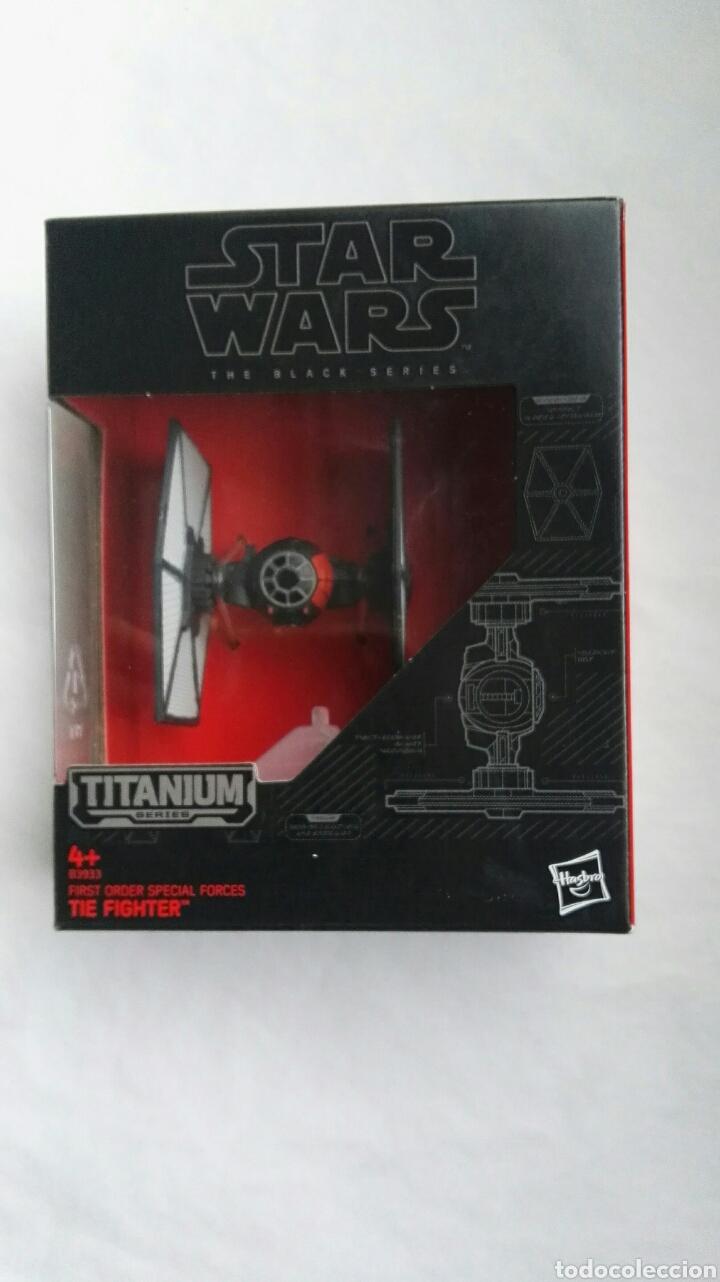 NAVE STAR WARS TITANIUM SERIES THE FIGHTER (Juguetes - Figuras de Acción - Star Wars)