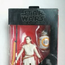 Figuras y Muñecos Star Wars: FIGURA STAR WARS THE BLACK SERIES REY (JAKKU) & BB-8 BLISTER NUEVO. Lote 176704279