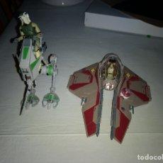 Figuras y Muñecos Star Wars: STAR WARS MAQUETA EN PLASTICO DE NAVE Y VEHICULO. Lote 176767229