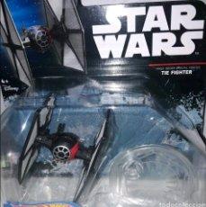 Figuras y Muñecos Star Wars: NAVE ESPACIAL HOT WHEELS TIE FIGHTER STAR WARS FIRST ORDER SPECIAL FORCES Y EL TIE FIGHTER NORMAL. Lote 218538117