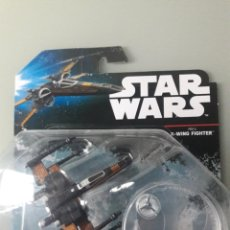 Figuras y Muñecos Star Wars: NAVE ESPACIAL HOT WHEELS POE'S X-WING FIGHTER. Lote 176856700