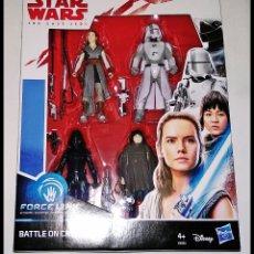 Figuras y Muñecos Star Wars: STAR WARS, SET DE 4 FIGURAS, PACK FORCE LINK, BATTLE ON CRAIT. NUEVO DE HASBRO.. Lote 177010124