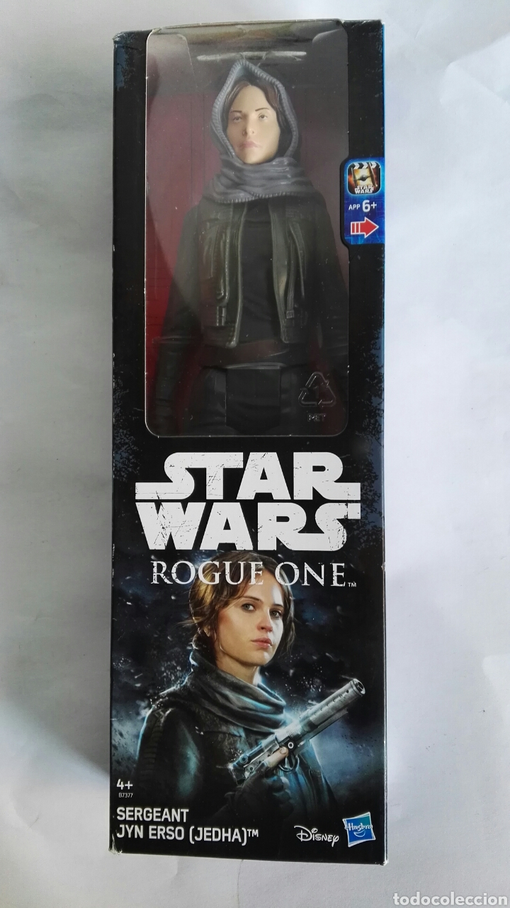 STAR WARS ROGUE ONE SERGEANT JYN ERSO FIGURA 30CM (Juguetes - Figuras de Acción - Star Wars)