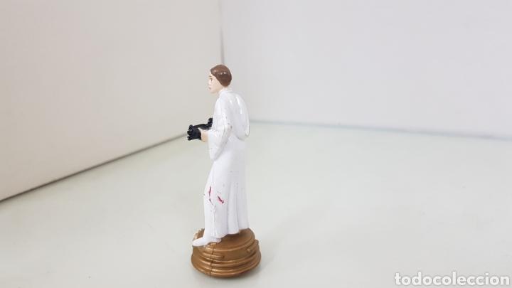 Figuras y Muñecos Star Wars: Figura de star wars de 8,5cms de la guerra de las galaxia princesa leya - Foto 2 - 177135320