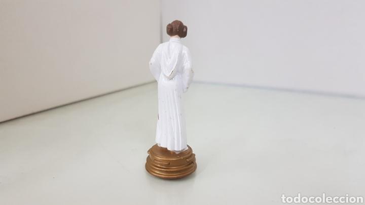 Figuras y Muñecos Star Wars: Figura de star wars de 8,5cms de la guerra de las galaxia princesa leya - Foto 3 - 177135320