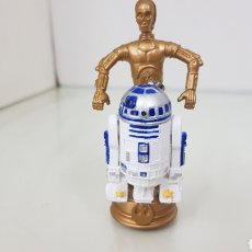 Figuras y Muñecos Star Wars: FIGURA DE STAR WARS DE 8,5CMS DE LA GUERRA DE LAS GALAXIA R2D2 Y C3PO. Lote 177135498
