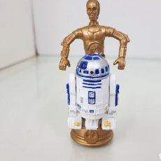 Figuras y Muñecos Star Wars: FIGURA DE STAR WARS DE 8,5CMS DE LA GUERRA DE LAS GALAXIA R2D2 Y C3PO. Lote 177135575
