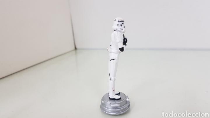 Figuras y Muñecos Star Wars: Figura de star wars de 8,5cms de la guerra de las galaxia startrooper - Foto 3 - 177136205