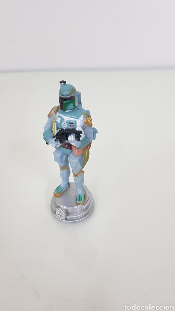 Figuras y Muñecos Star Wars: Figura de star wars de 8,5cms de la guerra de las galaxia startrooper camuflaje - Foto 4 - 177137099