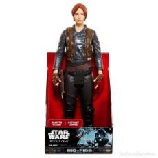 Figurines et Jouets Star Wars: FIGURA GRANDE STAR WARS BIG-FIG JYN ERSO - 45.CM ALTO APROX NUEVA. Lote 193022932