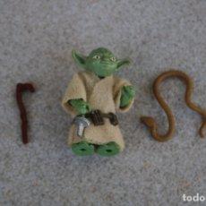 Figuras y Muñecos Star Wars: FIGURA ACCIÓN VINTAGE STAR WARS KENNER YODA COMPLETA ORIGINAL 1980 HONG KONG LFL. Lote 177607120